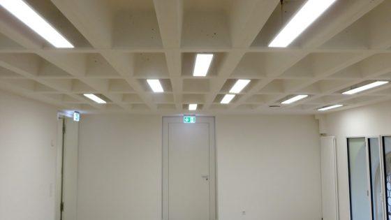 LED Deckenbeleuchtung im Gemeinschaftsraum St Jakob